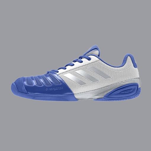 """Adidas Fechtschuh """"D´Artagnan V"""" blau/weiß"""