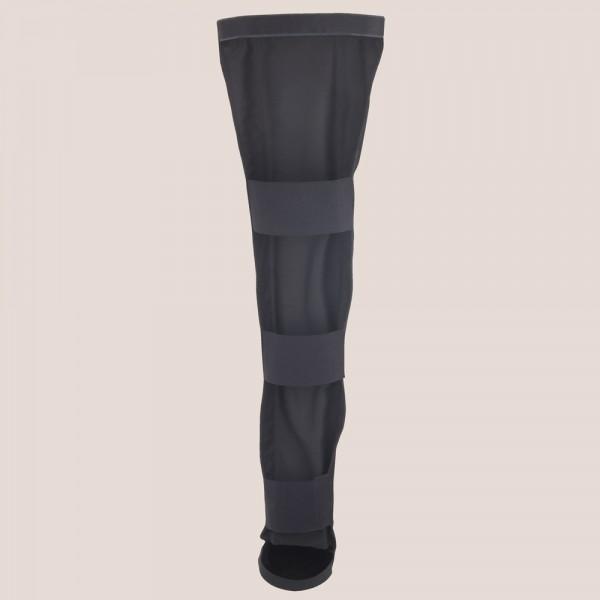 Allstar Leder Beinschutz Lang mit Fußschutz