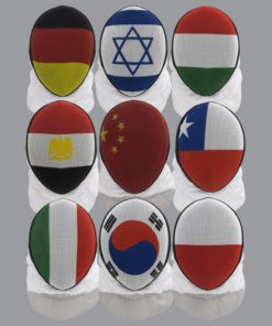 Logo Maske und Nationalität Kürzel